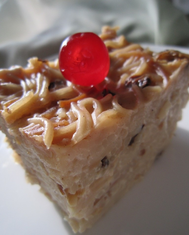 West Indian – (Guyanese Style) Sweet Vermicelli Cake ... Almond Butter Ah